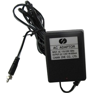 AC charger for battery clip