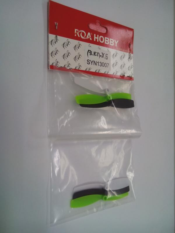 ROA HOBBY ALIEN-X6 Propeller(2 White+2 Black+2 green)