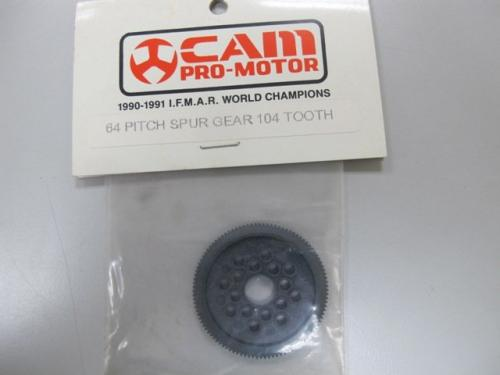 Cam 64P-104T teeth