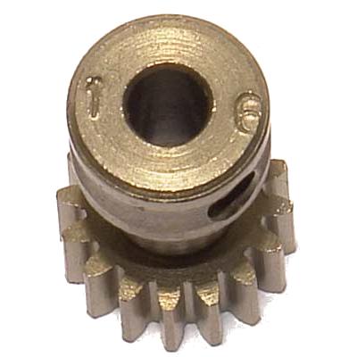 CORALLY Pinion 48 DP – Long – Hardened Steel – 16Teeth