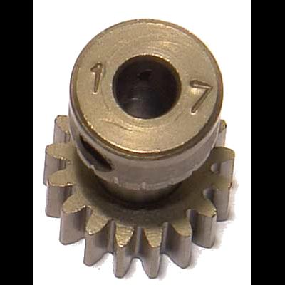 CORALLY Pinion 48 DP – Long – Hardened Steel – 17Teeth