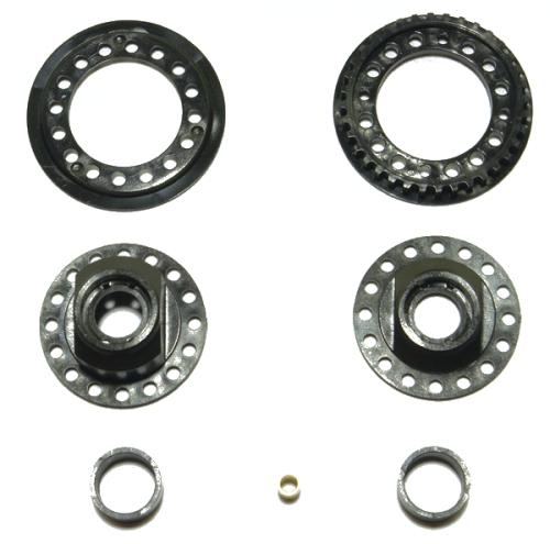 Corally Gear Differential Plastic Parts