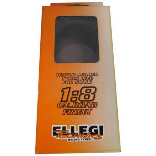 ELLEGI 1/8 EA-40M Multilayer front tires