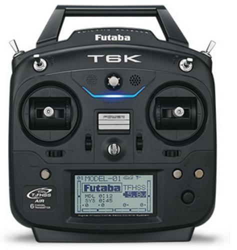 Futaba 6K / R3006SB 6-Ch 2.4GHz T-FHSS Radio System