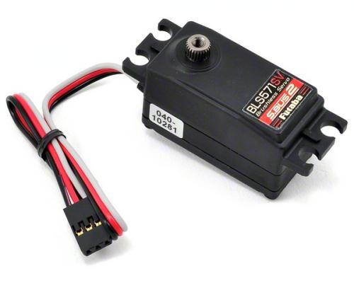 Futaba BLS571SV Brushless S.Bus2 Programmable Digital High Voltage Low Profile Car Servo