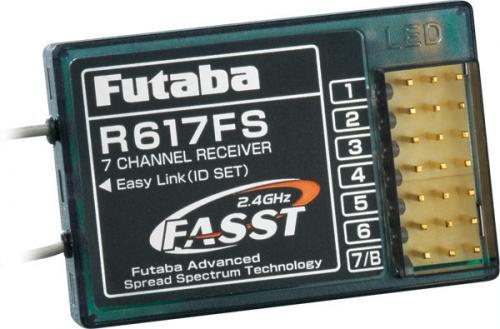 Futaba R617FS 2.4GHZ FASST RX 7CH Aircraft Receiver