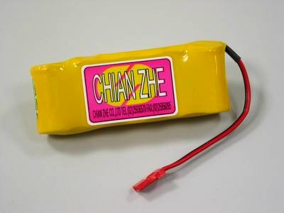 GP 6V 1100mAh NiMH receiver inline battery pack