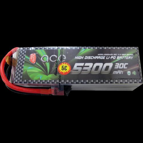 Genace 5300mah 30c 11.1v LIPO