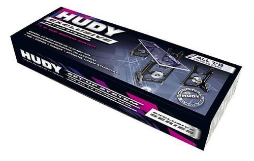 HUDY Universal Exclusive Set-up System for 1-8 On-Road Cars #108005