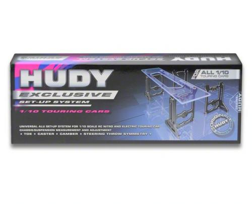 Hudy Universal Exclusive Set-Up System For 1-10th Touring Cars, 109305