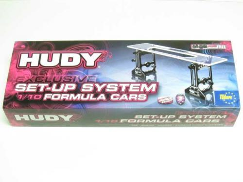 HUDY Universal Exclusive Setup System for 1-10 Formula Cars, 109306