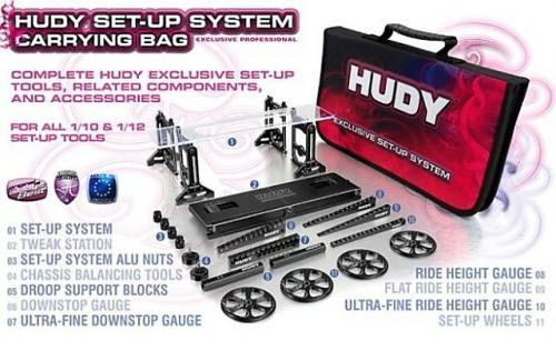 Hudy Set-Up Bag For 1-10 Car #199220
