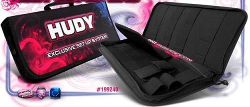 HUDY Set-Up Bag for 1-8 Off-Road Cars - Exclusive Edition, 199240