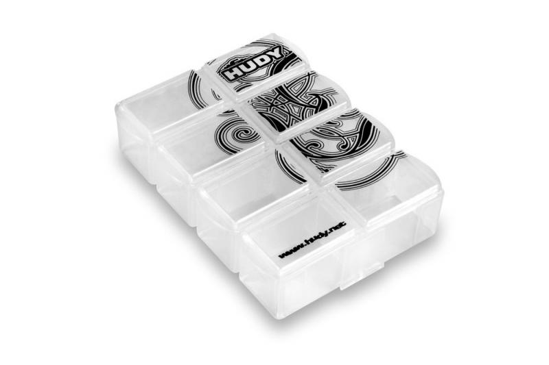 Hudy 298018 HUDY Tiny Hardware Box - 8-Compartments