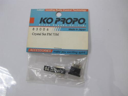 KOPROPO 83006 FM-75MHZ Crystal