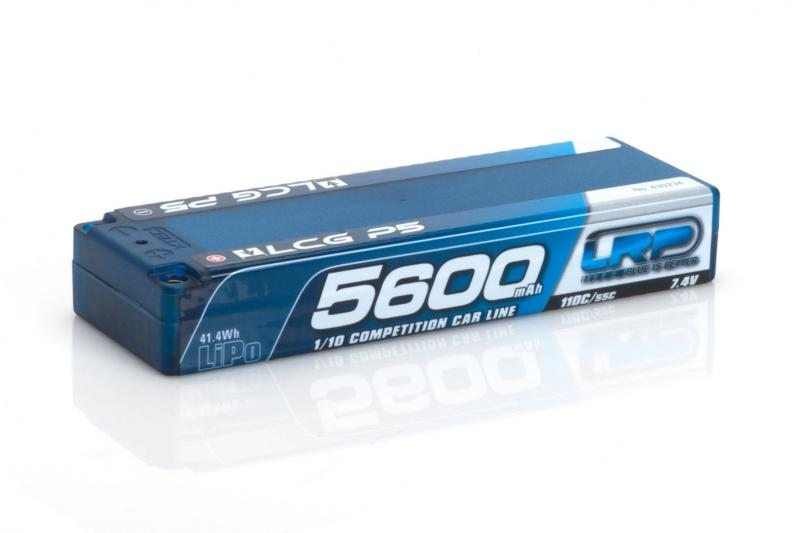 LRP 5600 TC LCG P5 110C 55C 7.4V LIPO 1-10 COMPETITION, 430234