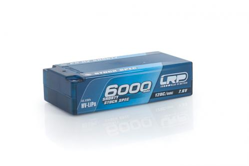 LRP P5-HV Shorty Stock Spec GRAPHENE 6000mAh Hardcase, 430255