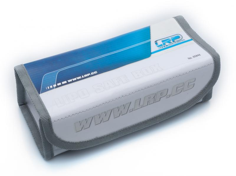 LRP LiPo Safe Box - large 18x8x6 cm, 65848