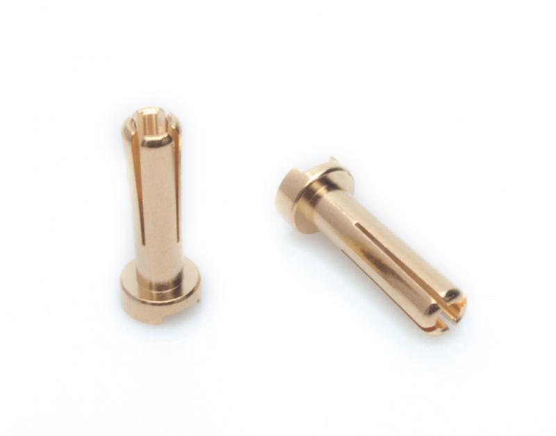LRP 4mm Gold Works Team Connectors (10 pcs.),65815