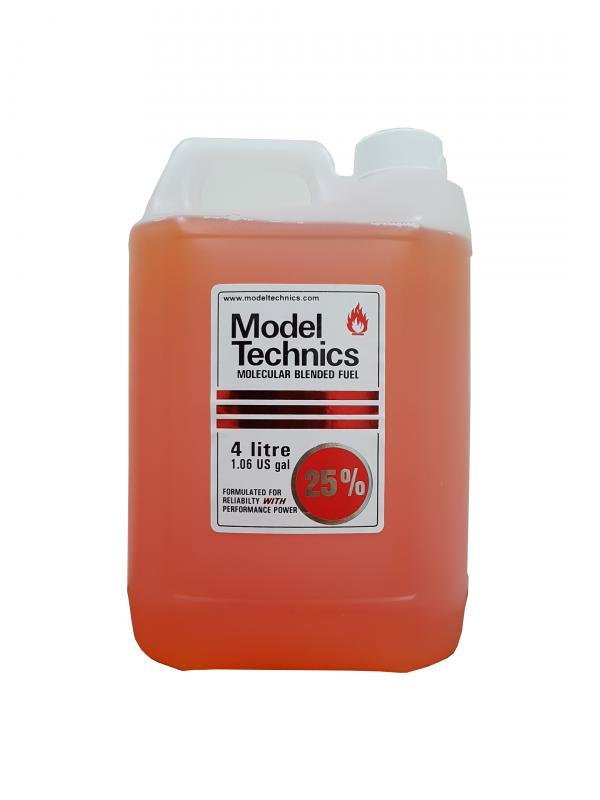 Model Technics On Road Race Fuel 25%(Red Roundel) 4L