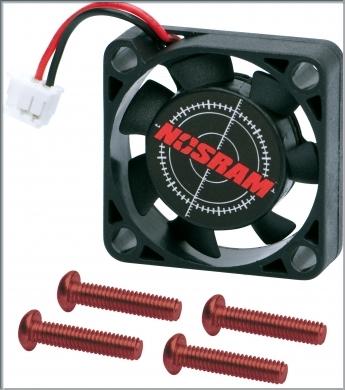 NOSRAM Speedo Fan 25x25x7mm (incl screws),92512