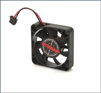 Nosram Speedo fan 30 x 30 7mm with small plug 30mm square,92513