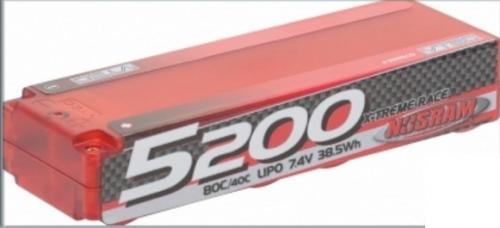 NOSRAM LiPo 5200 X-treme Race Hardcase - 80C-40C,999505