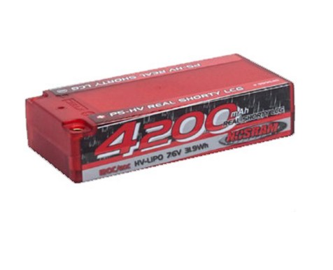 NOSRAM Lipo 4200 P5-HV Real Shorty LCG - 7.6V, 999545