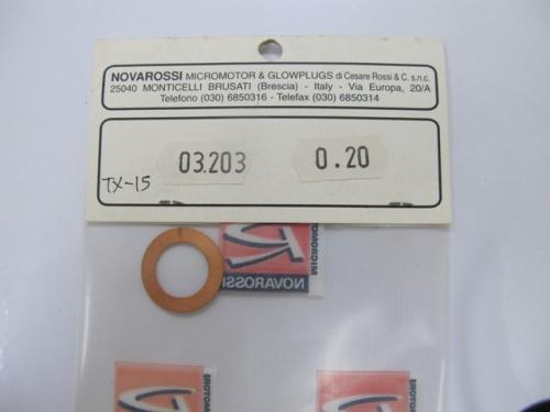Novarossi Thermal head gasket 0.20, 03203