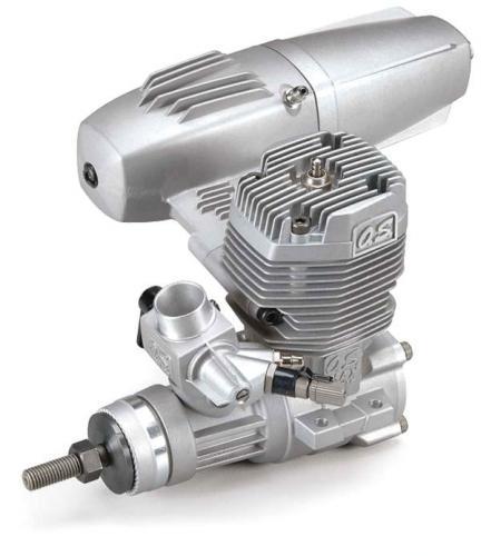 OS Engine MAX 55AX (40K) with E-3070 Silencer, 15612