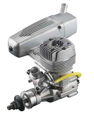 O.S. GGT-15 GASOLINE ENGINE WITH E-4040 SILENCER,3A200