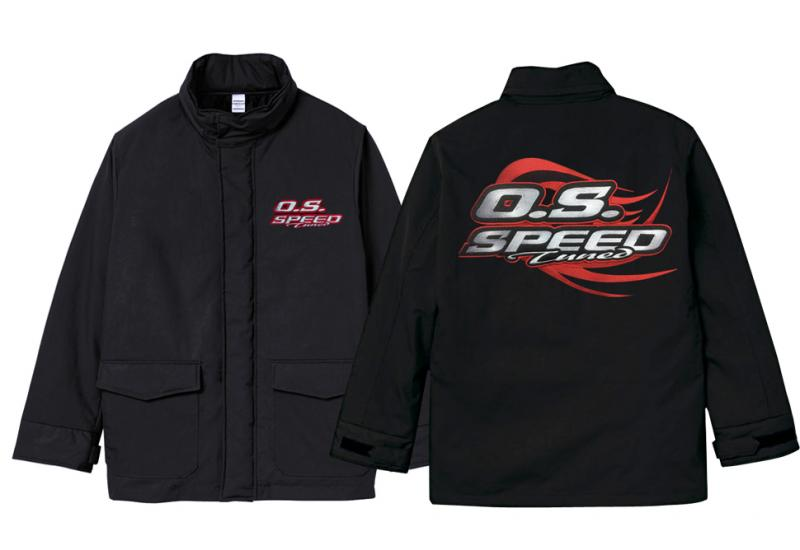 O.S. SPEED FIELD COAT XL (RED), 79883055