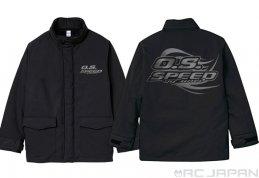 O.S. SPEED FIELD COAT XL (BLACK), 79883058