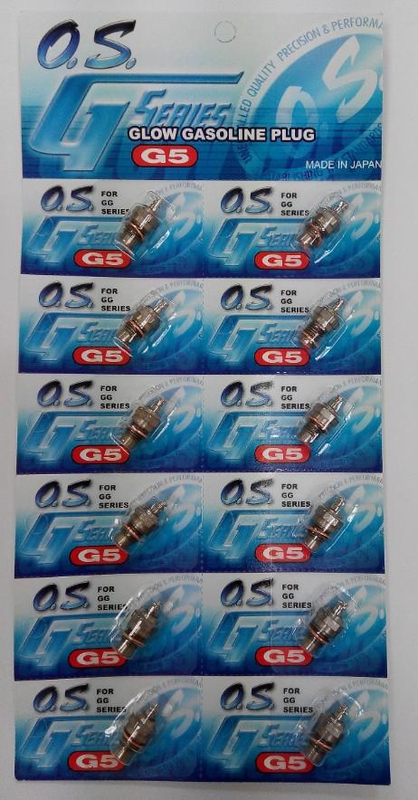 O.S. Glow Gas Plug G5