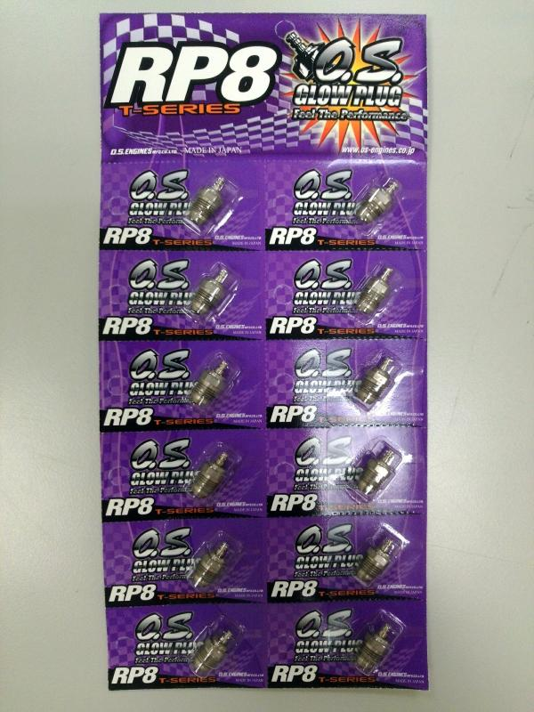 O.S. Glow Plug RP8(1 pc)