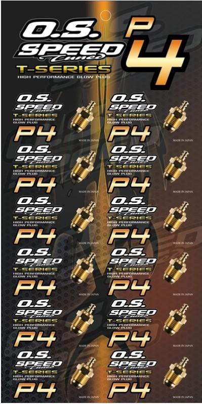 PLUG O.S. SPEED P4
