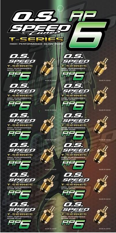 PLUG O.S. SPEED RP6