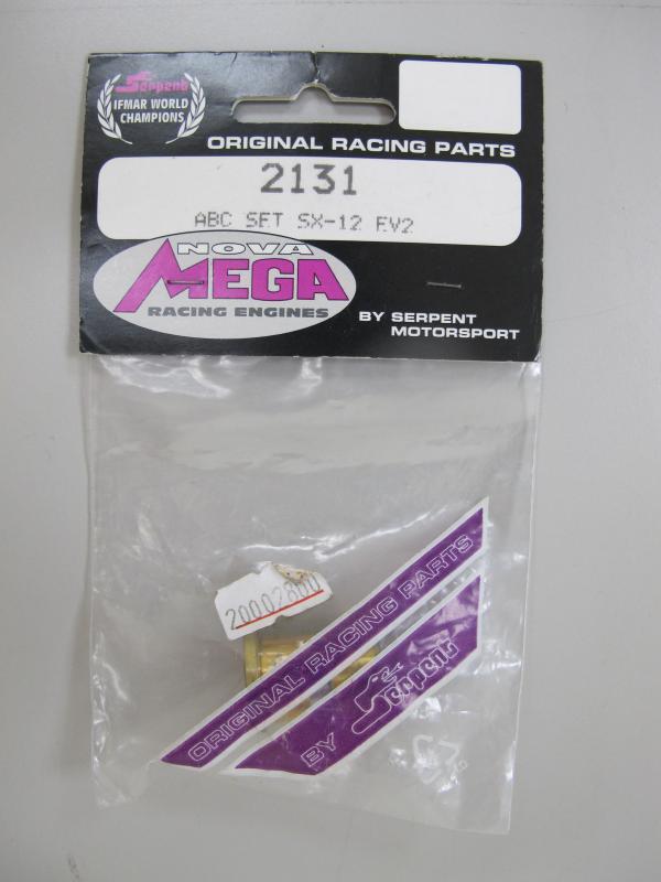 MEGA SX12EV2 Cylinder piston, 2131