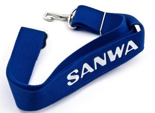 SANWA Neck strap (blue), 107A30052A
