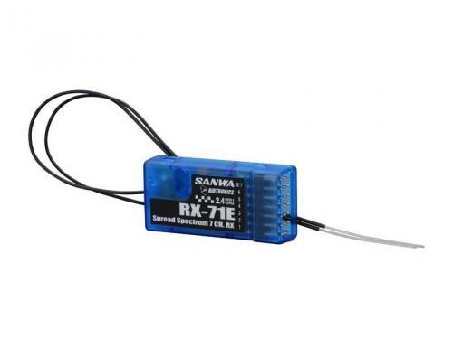 SANWA RX71E 7-Channel 2.4G FHSS-1 Receiver