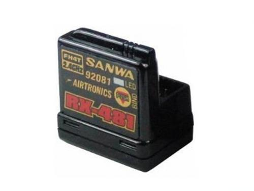 Sanwa RX-481 2.4Ghz FHSS-4 BUILT-IN ANTENNA
