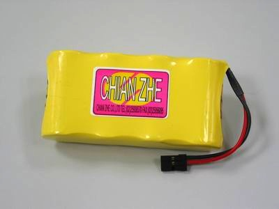 SANYO 4.8V 2400mAh Ni-Cd battery receiver