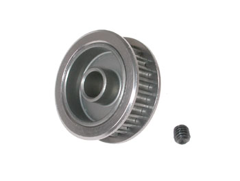 #90255-56 Hard anodized Lu alloy pulley