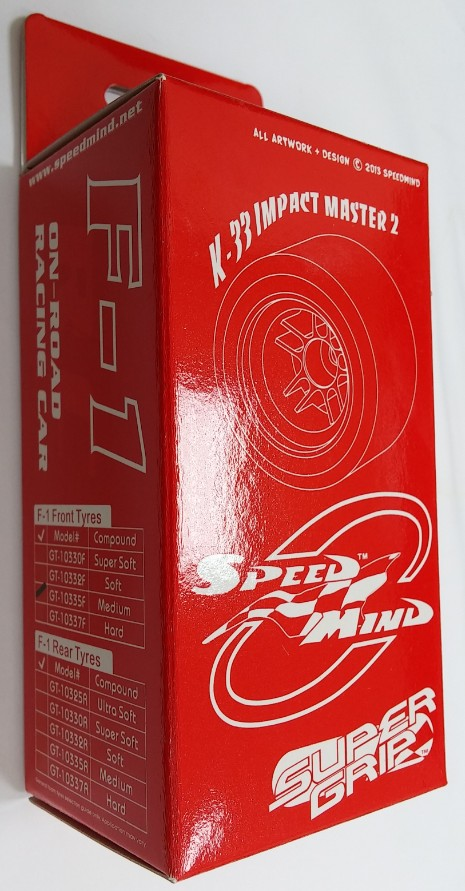 Speedmind Super Grip Foam Tire 35Sh. (Medium) For F-1