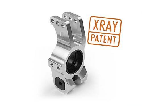 XRAY Aluminum rear axle adjustable seat,#353355-65