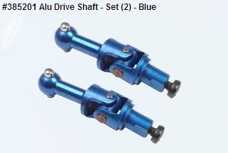 Alu Drive Shaft - Set (2) - Blue