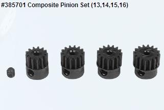 Composite Pinion Set (13,14,15,16)