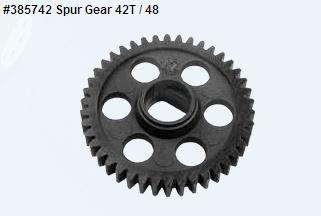 Spur Gear 42T - 48