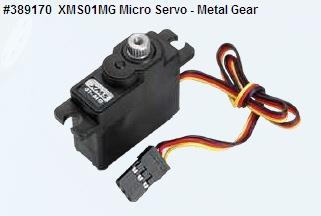 XMS01MG Micro Servo-Metal Gear